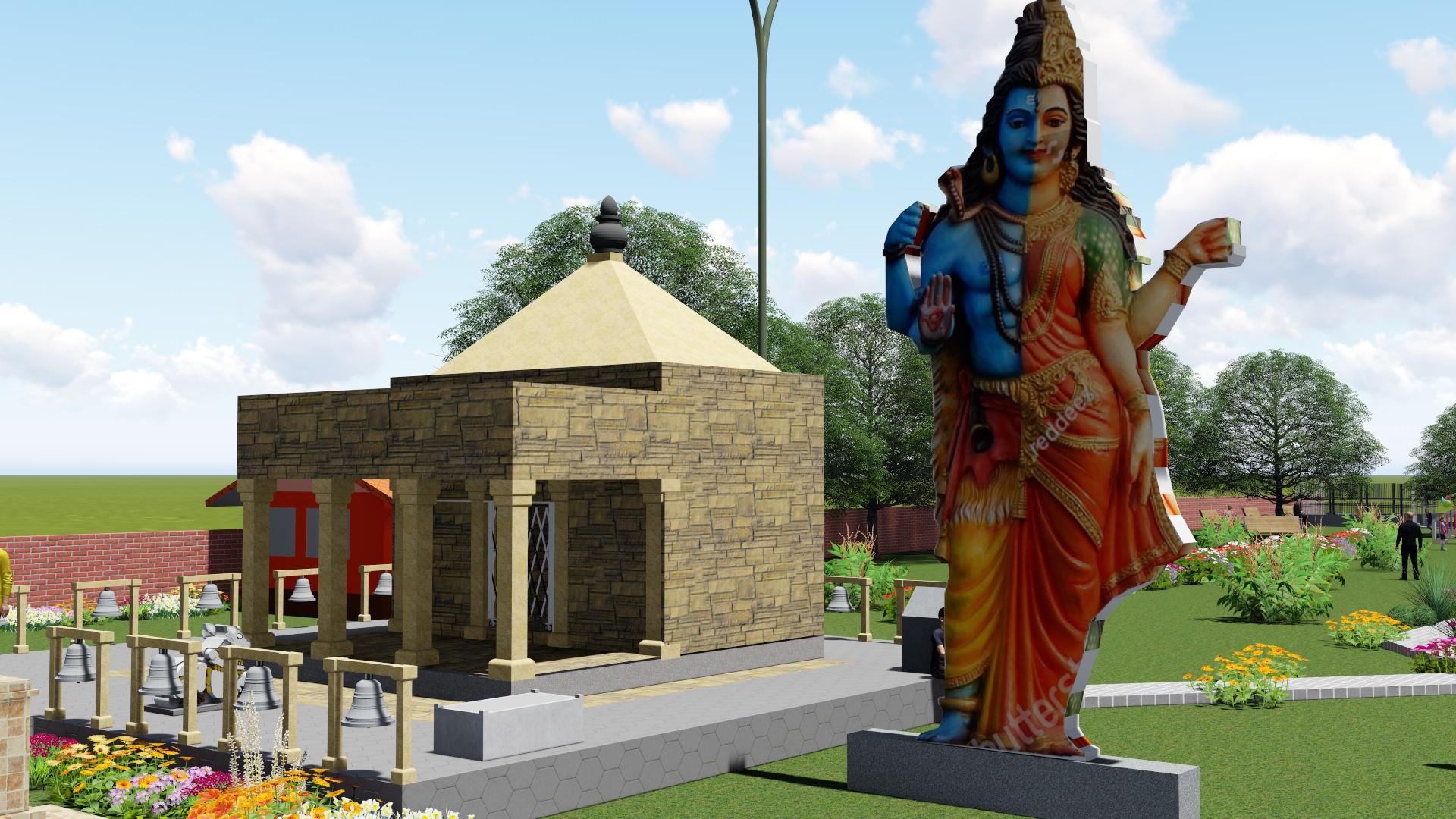 आधुनिक बनाइँदै लाटिकोइलीको शिव मन्दिर