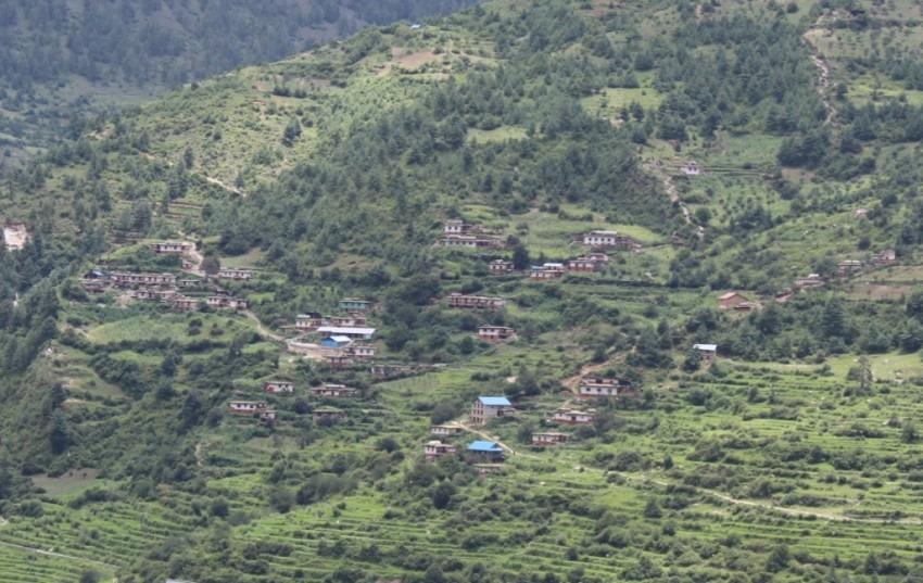 सिंजा क्षेत्रमा प्राङ्गारिक गाउँ घोषणा अभियान