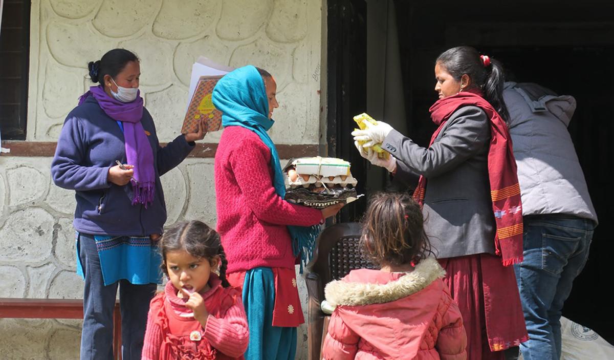 तीला गाउँपालिकाले ल्यायो गर्भवतीसँग उपाध्यक्ष कार्यक्रम