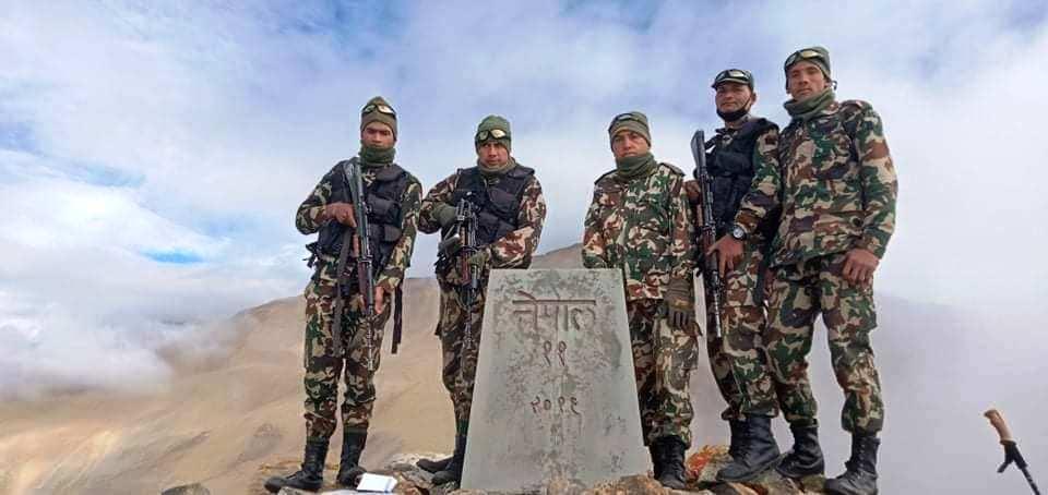 नेपाल–चीन सीमा छुट्याउने ११ नम्बर सीमास्तम्भ भेटियो