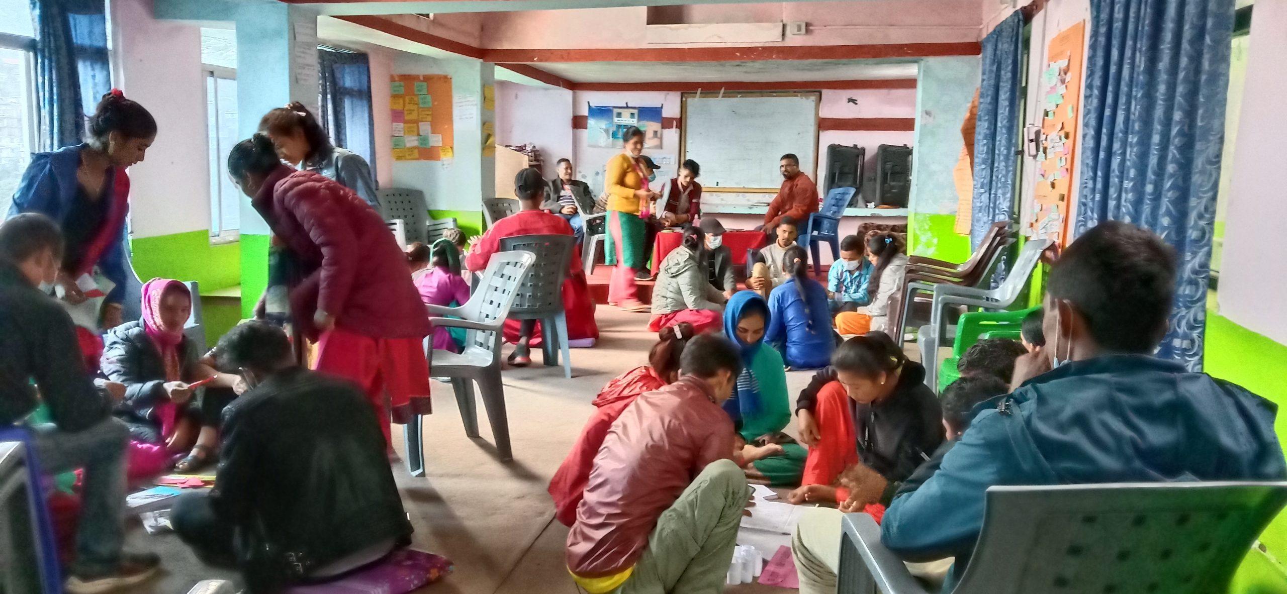 युवाहरूलाई उद्यमशिलता सम्बन्धि तालिम